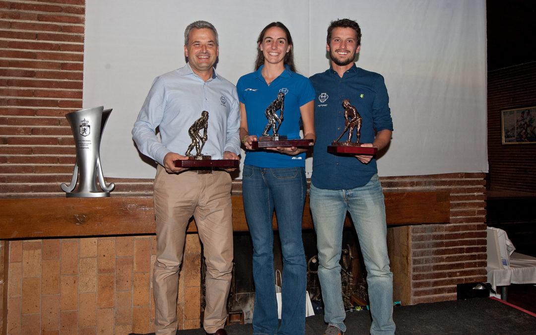 Esteve Bosch, (H)Armonia d'Or 2016; Carola Salvatella, plata i Pere Arch, bronze
