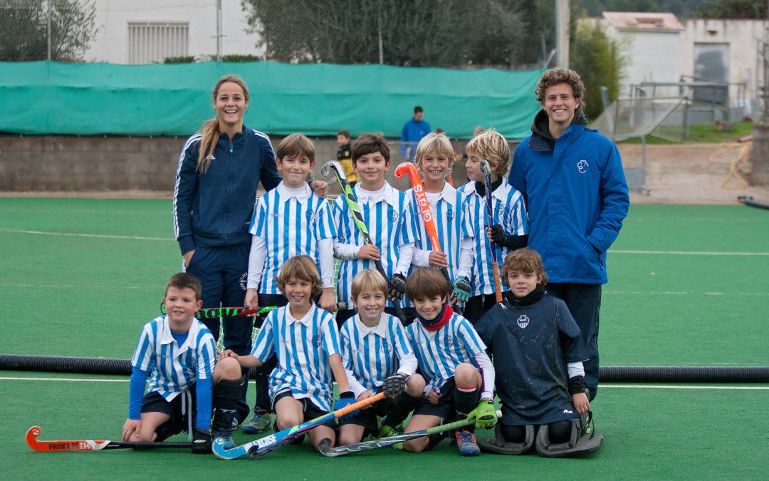 El Club Egara Benjamí 5×5 C alça la Copa Federació