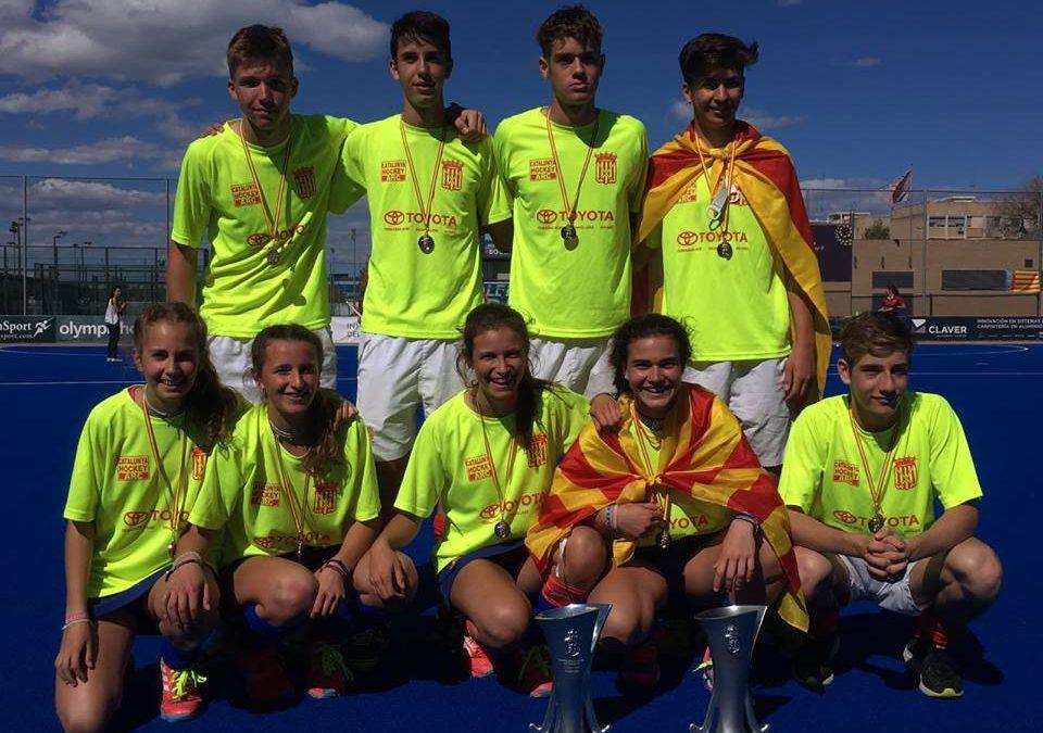 Nou ratllats, campions d'Espanya sub-16 amb Catalunya