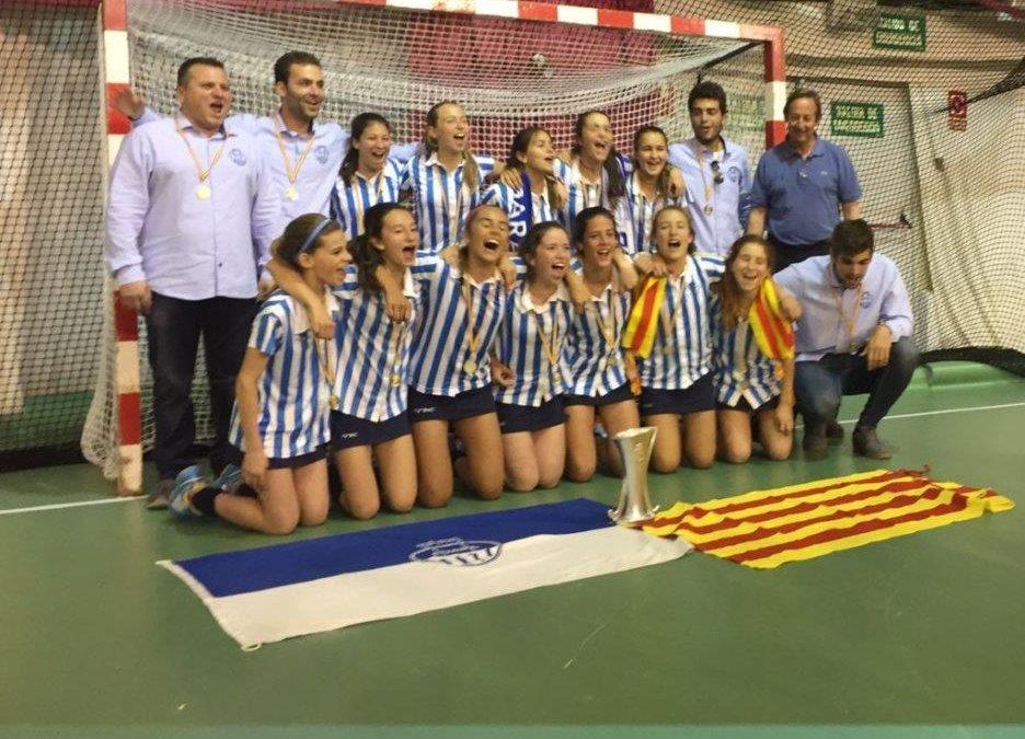 L'Egara, campiones d'Espanya Infantil