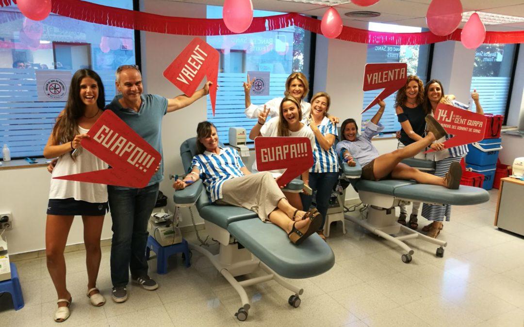El Club Egara es mobilitza per donar sang