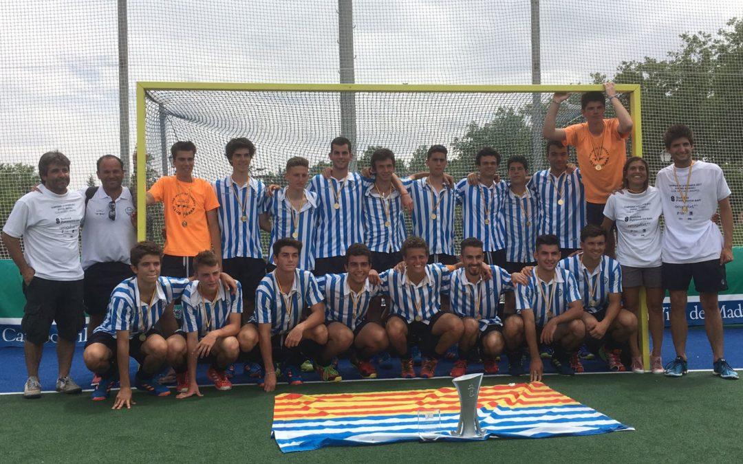 El Juvenil Masculí campió d'Espanya