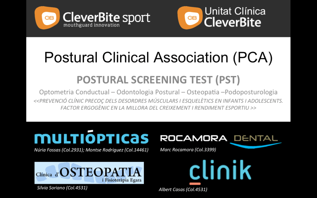 Dimecres 12: Presentació de la Postural Clinic Association