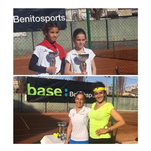 Marta Arcediano i Roser Martin, guanyadores del Màsters de Terrassa 2018
