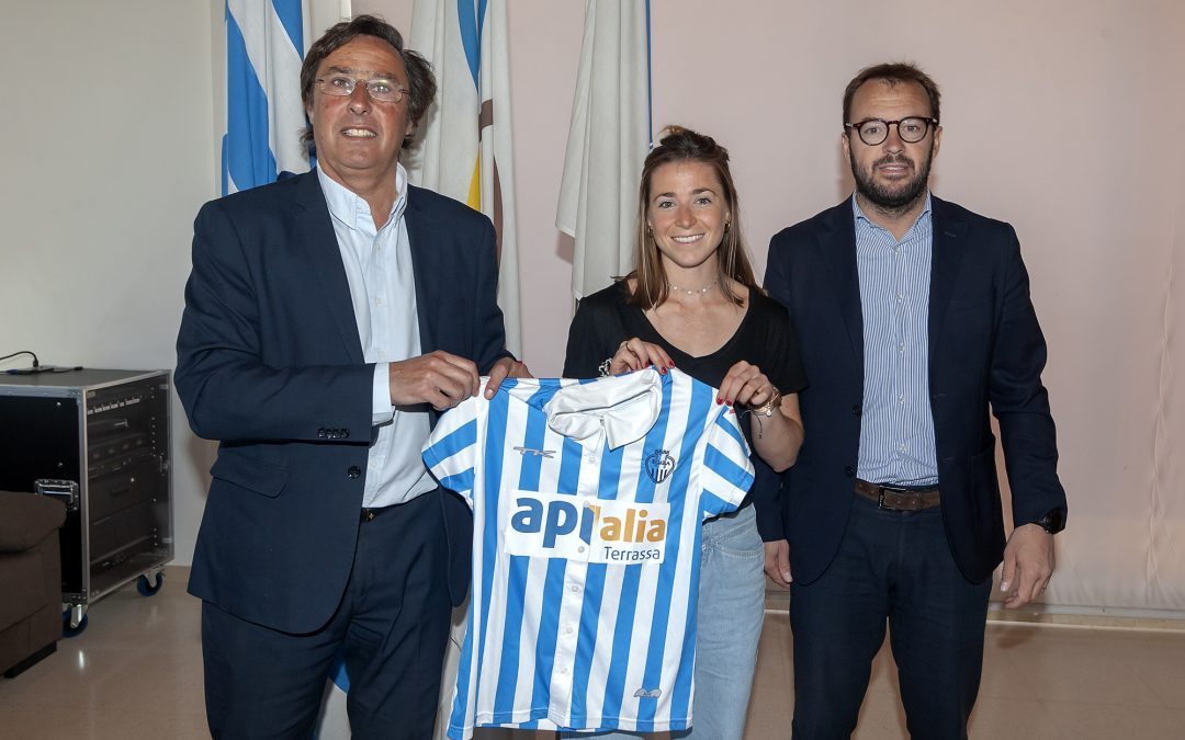 Berta Bonastre, nova jugadora de l'equip de DHF del Club Egara