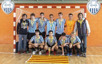 L'Egara Juvenil Masculí, campió de Catalunya de Hockey Sala